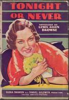 Сегодня ночью или никогда (1931)