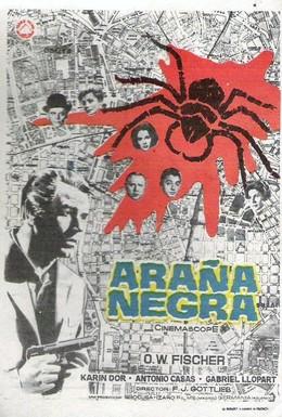 Постер фильма Тайна чёрной вдовы (1963)