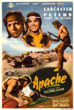 Постер фильма Апач (1954)