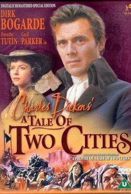 Постер фильма Повесть о двух городах (1958)