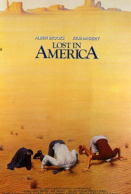 Постер фильма Потерянные в Америке (1985)