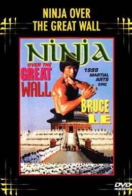 Постер фильма Ниндзя на Великой стене (1987)
